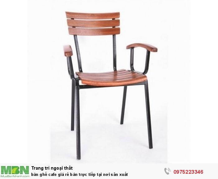 bàn ghế cafe giá rẻ bán trực tiếp tại nơi sản xuất