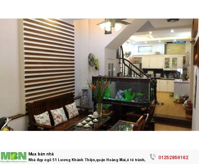 Nhà đẹp ngõ 51 Lương Khánh Thiện,quận Hoàng Mai,ô tô tránh,DT 66m2