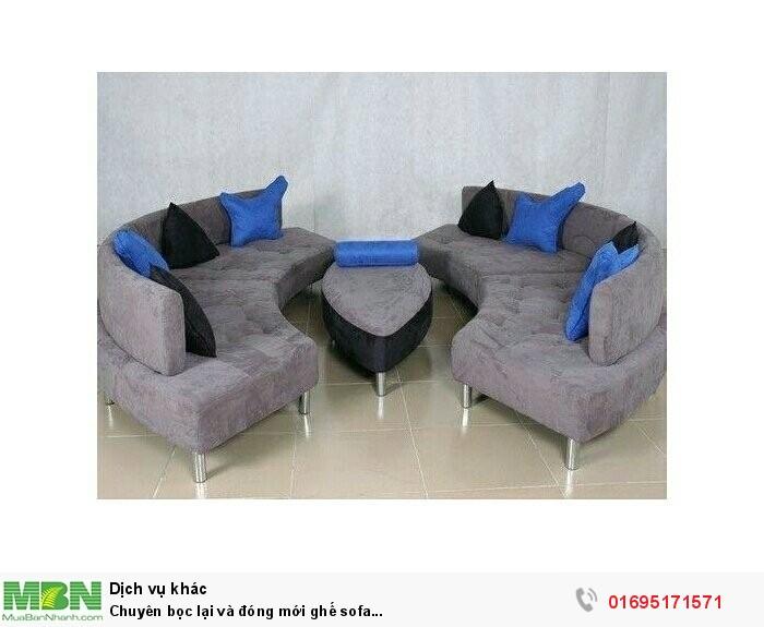 Chuyên bọc lại và đóng mới ghế sofa