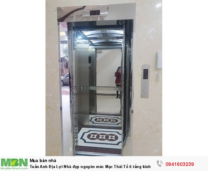 Nhà đẹp nguyên mác Mạc Thái Tổ 6 tầng kinh doanh siêu việt