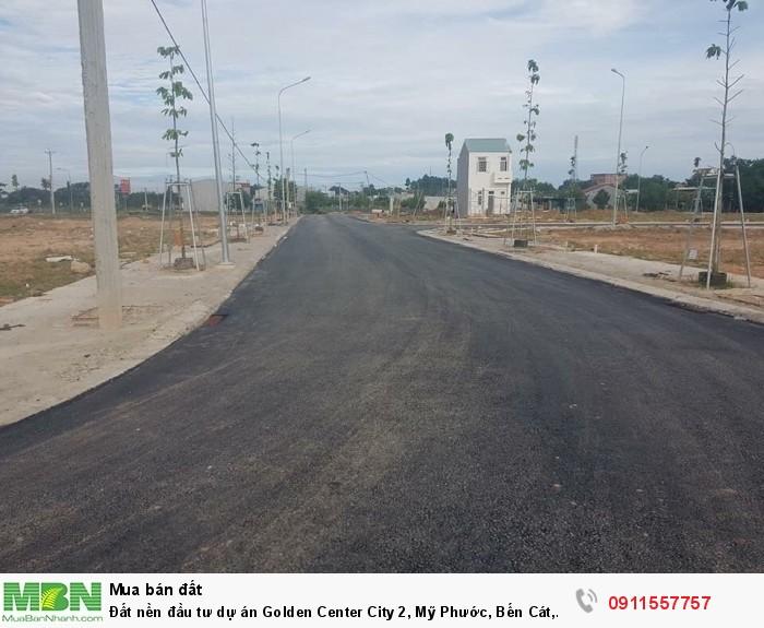 Đất nền đầu tư dự án Golden Center City 2, Mỹ Phước, Bến Cát