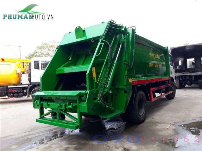Xe cuốn ép rác Isuzu VM FN129 6 tấn 12 khối - 12m3