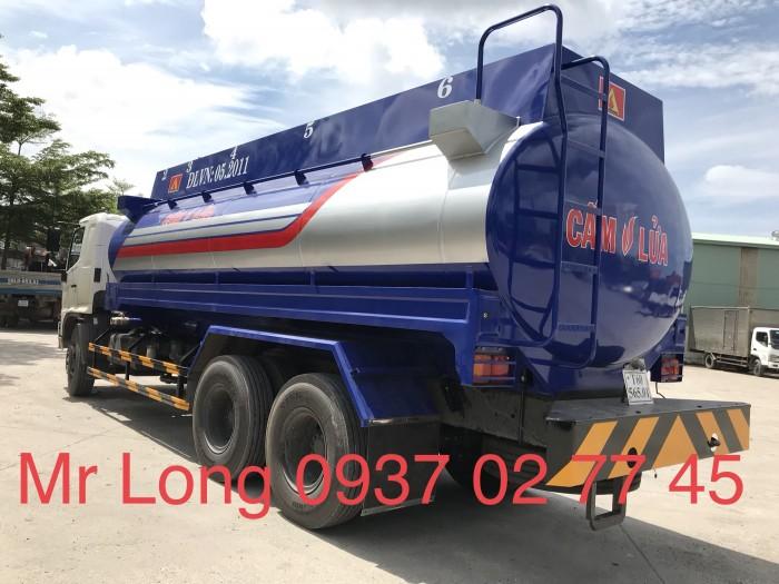 Khuyển mãi xe HINO chở xăng 20 khối , xe bồn chở xăng 20 khối , HINO FL8JTSA chở xăng dầu 2
