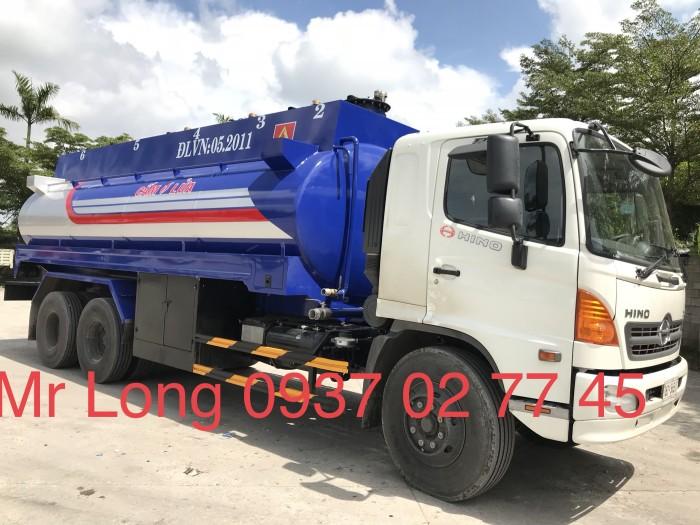Khuyển mãi xe HINO chở xăng 20 khối , xe bồn chở xăng 20 khối , HINO FL8JTSA chở xăng dầu 1