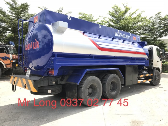 Khuyển mãi xe HINO chở xăng 20 khối , xe bồn chở xăng 20 khối , HINO FL8JTSA chở xăng dầu