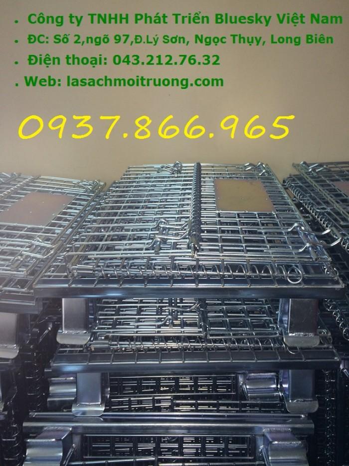 Bán lồng trữ hàng,lồng lưới thép theo yêu cầu của khách hàng3