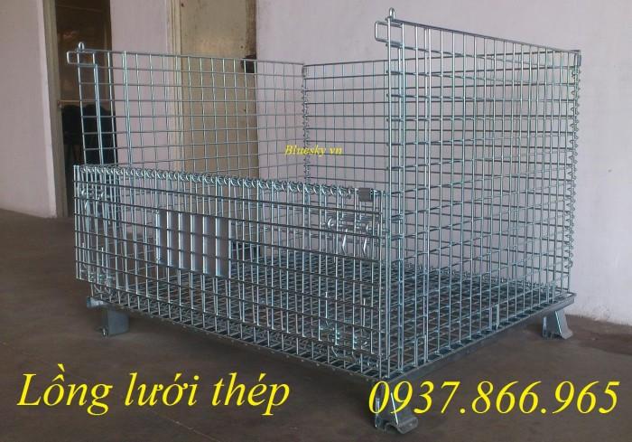 Bán lồng trữ hàng,lồng lưới thép theo yêu cầu của khách hàng2