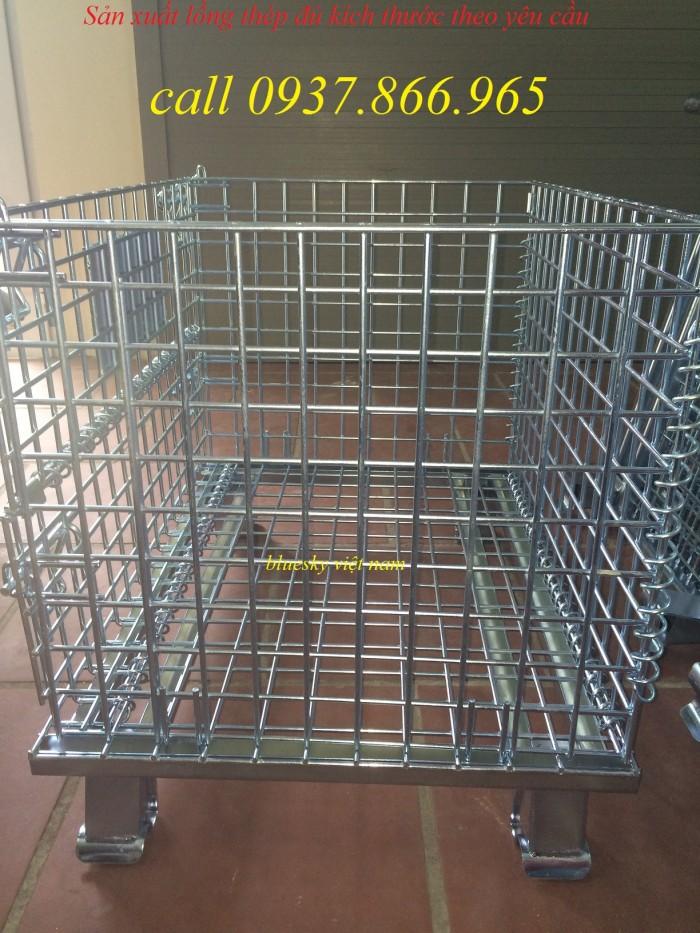 Bán lồng trữ hàng,lồng lưới thép theo yêu cầu của khách hàng1