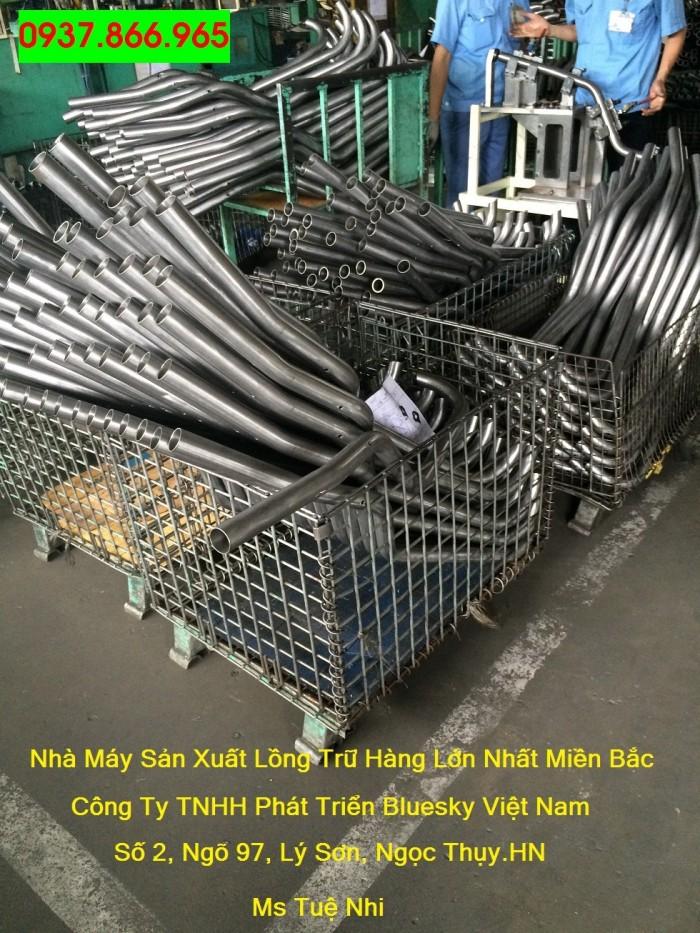 Bán lồng trữ hàng,lồng lưới thép theo yêu cầu của khách hàng0
