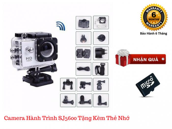 Camera hành trình SJ5600-4K là dòng camera thể thao đột phá về tính năng và phong cách