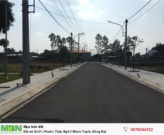 Đất mt QL51, Phước Thái, Ngã 3 Nhơn Trạch, Đồng Nai