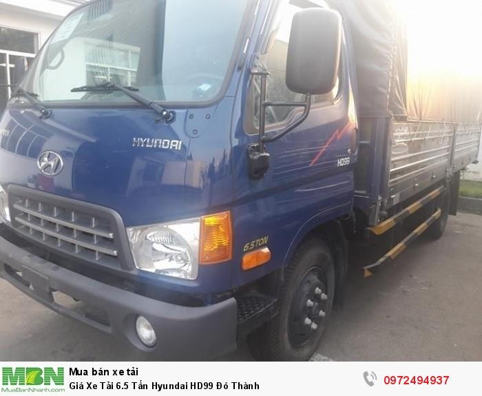 Giá Xe Tải 6.5 Tấn Hyundai HD99 Đô Thành