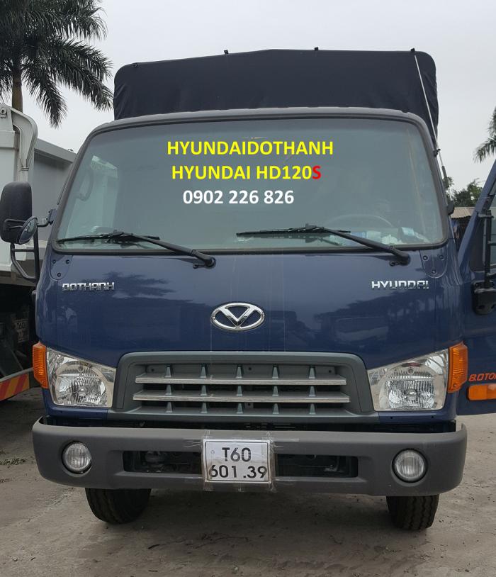 Hyundai Hd120S Thùng Bạt Hưng Yên, Bán Hyundai Hd120S Trả Góp
