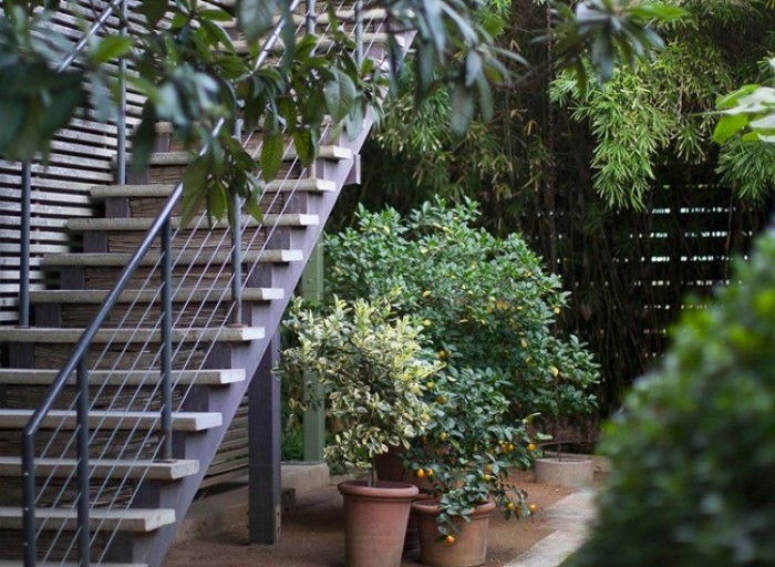 cầu thang sắt ngoài trời3