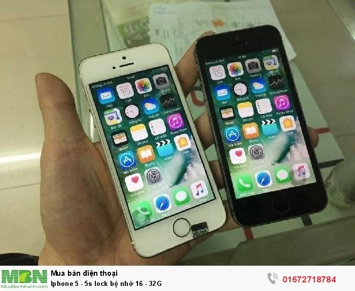 Iphone 5 - 5s lock bộ nhớ 16 - 32G