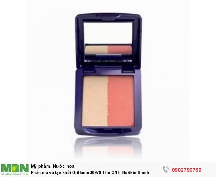 Phấn má và tạo khối Oriflame 30979 The ONE IlluSkin Blush0