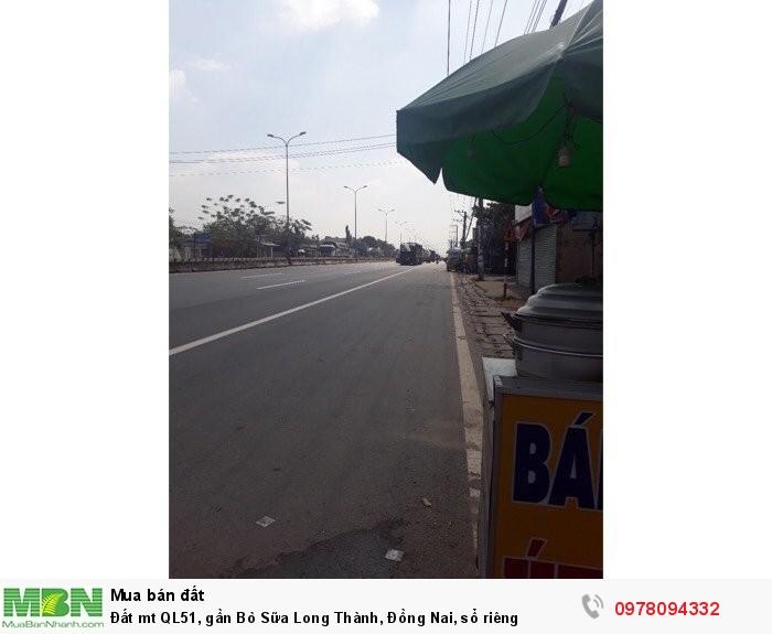 Đất mt QL51, gần Bò Sữa Long Thành, Đồng Nai, sổ riêng