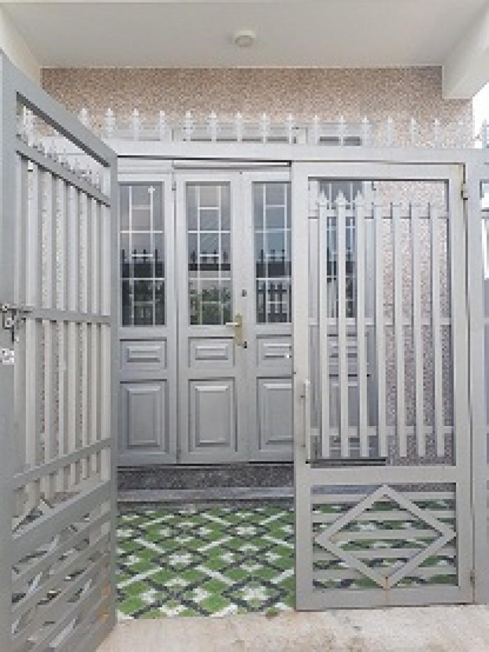 Nhà giá rẻ Quận 12 thiết kế 2 tầng 2 phòng ngủ 54m2 Hà Huy Giáp