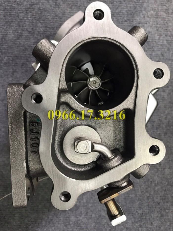 Turbo tăng áp máy xúc - máy đào