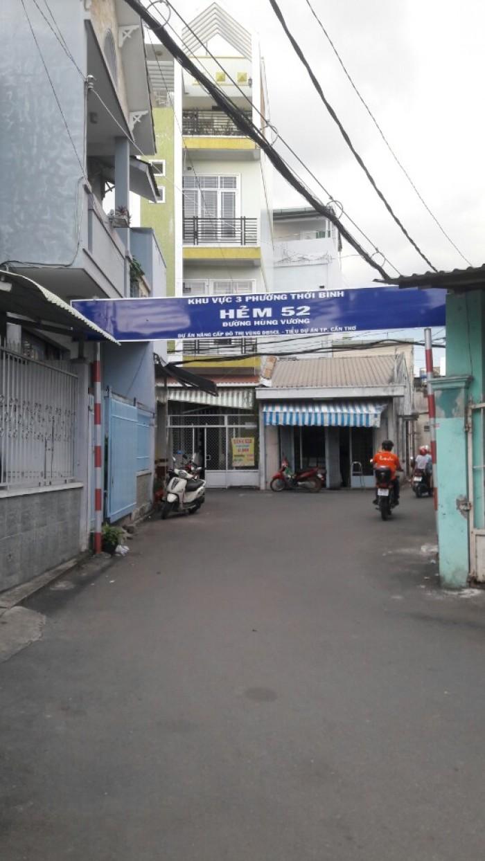 Bán nhà hẻm 52 Hùng Vương