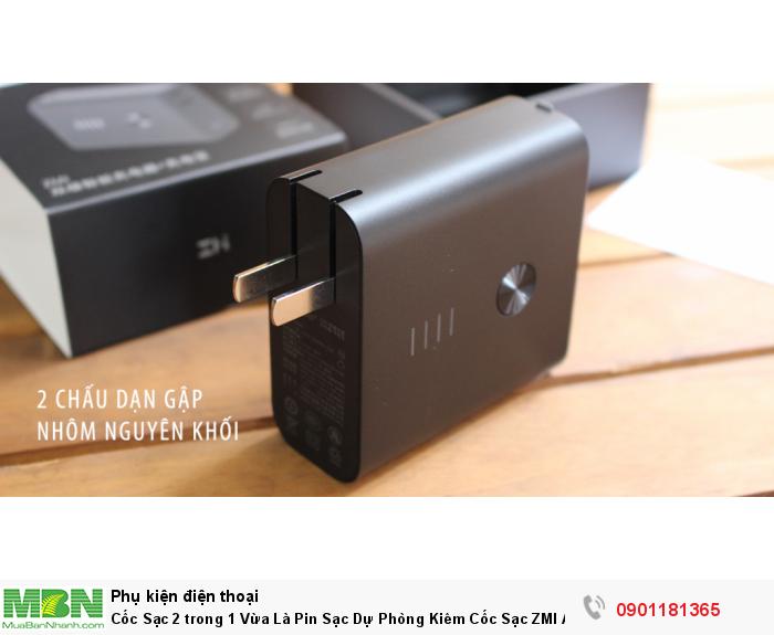 Có dung lượng pin lên tới 6500mAh trong một thiết kế nhỏ gọn, nhẹ chỉ 200g