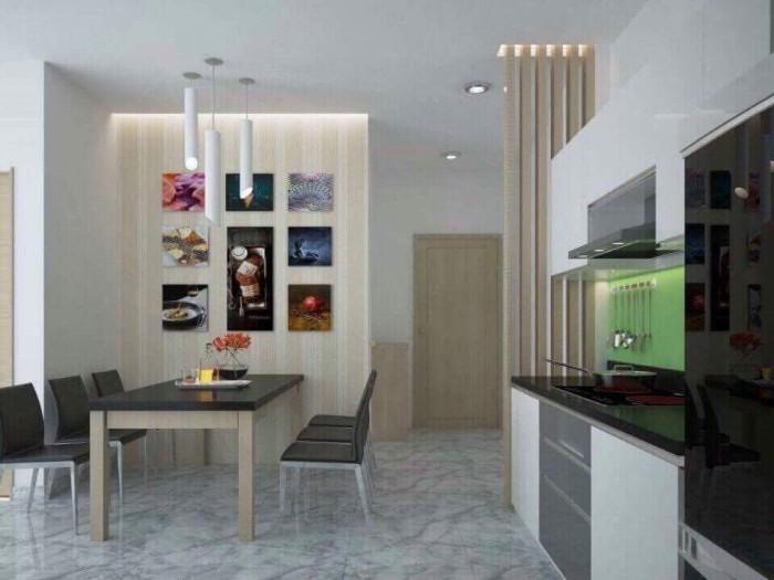 Cho thuê căn hộ 2PN đầy đủ nội thất chung cư Bộ Công An, Trần Não Quận 2