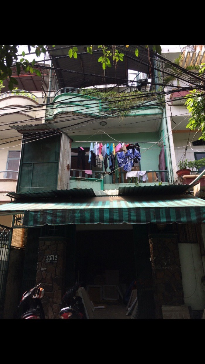 Bán nhà hẻm 8m Phan Văn Trị  P7 GV 80m2