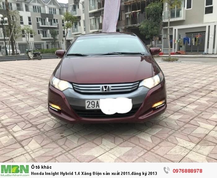Honda Insight Hybrid 1.4 Xăng Điện sản xuất 2011.đăng ký 2013