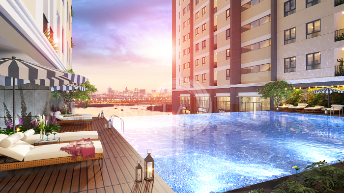 Căn hộ Saigon Intela (Riverview Tower) gần kề Phú Mỹ Hưng
