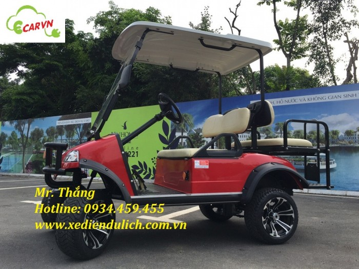 xe điện sân golf địa hình 4 chỗ HDK