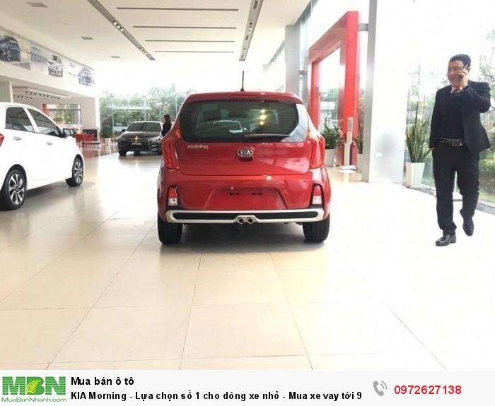 KIA Morning - Lựa chọn số 1 cho dòng xe nhỏ - Mua xe vay tới 90% giá trị xe, Lãi suất chỉ 0,6% / tháng