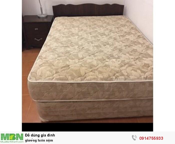 Giường luôn nệm