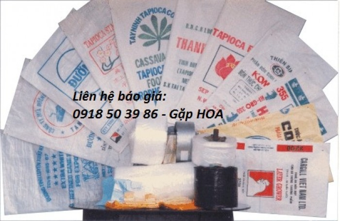 Chuyên bán các loại bao bì Công nghiệp, bao PP dệt đựng gạo,phân bón, hóa chất, thực phẩm17