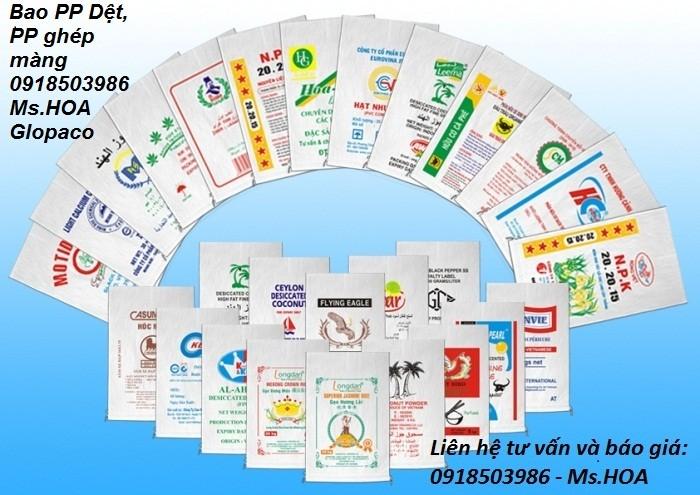 Chuyên bán các loại bao bì Công nghiệp, bao PP dệt đựng gạo,phân bón, hóa chất, thực phẩm12