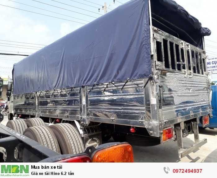 Giá xe tải Hino 6.2 tấn 3