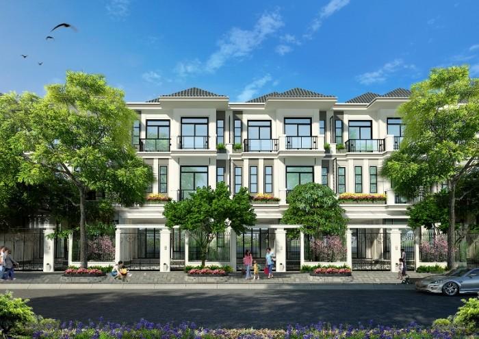 Mở bán đợt 1 gồm 60 căn biệt thự nhà phố Green Star Quận 7, MT Phạm Hữu Lầu, liền kề Phú Mỹ Hưng