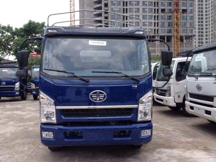 xe tải Faw 7.3 tấn động cơ huyndai thùng mui bạt