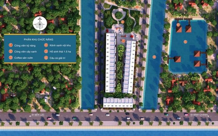 Đất thổ cư đường Nguyễn Hữu Trí- Chợ Đệm- Bình Chánh