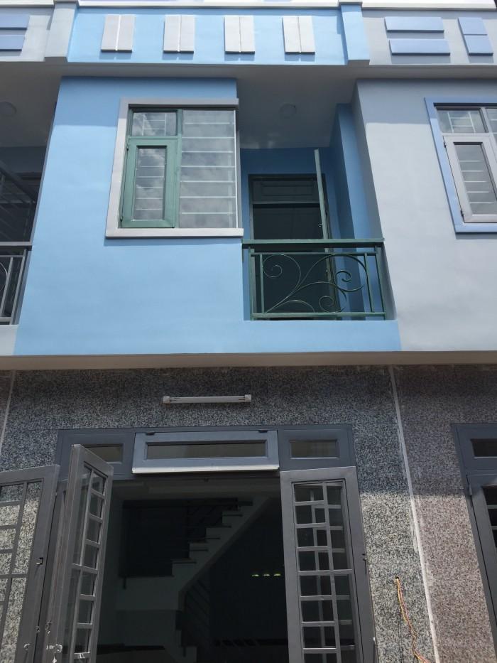 Khu nhà phố 1 lầu- Q12. Giá 775tr/ căn. Khu dân cư nhiều tiện ích.