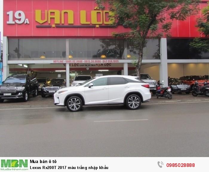 Lexus Rx200T 2017 màu trắng nhập khẩu 1