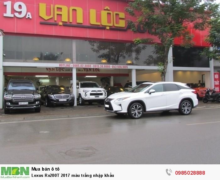 Lexus Rx200T 2017 màu trắng nhập khẩu 2