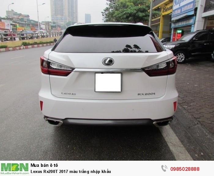 Lexus Rx200T 2017 màu trắng nhập khẩu 5