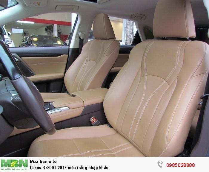 Lexus Rx200T 2017 màu trắng nhập khẩu 6