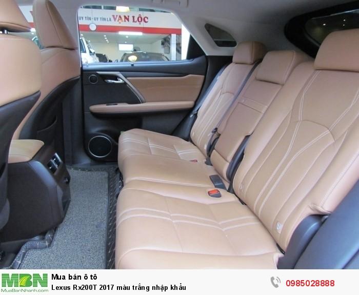 Lexus Rx200T 2017 màu trắng nhập khẩu 7