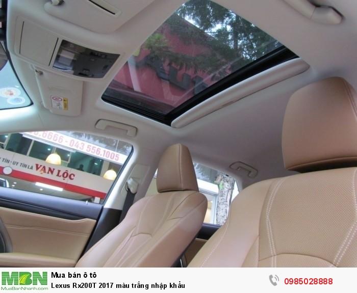Lexus Rx200T 2017 màu trắng nhập khẩu 9