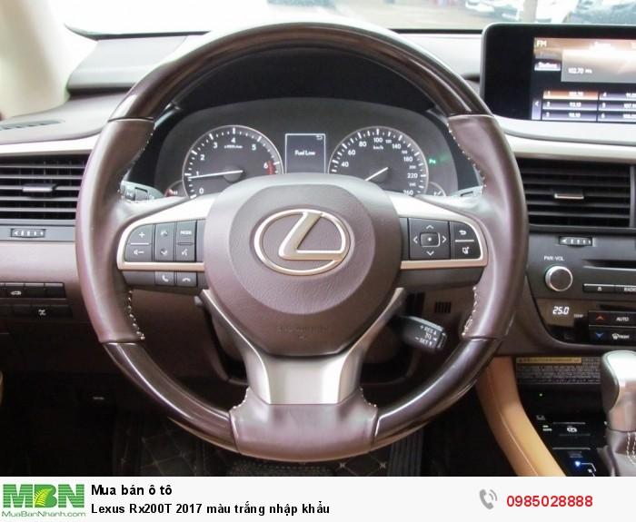 Lexus Rx200T 2017 màu trắng nhập khẩu 13