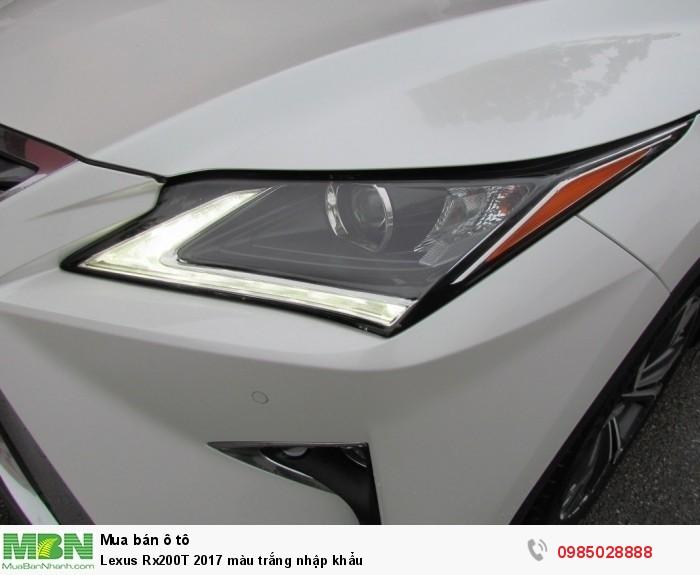 Lexus Rx200T 2017 màu trắng nhập khẩu 14