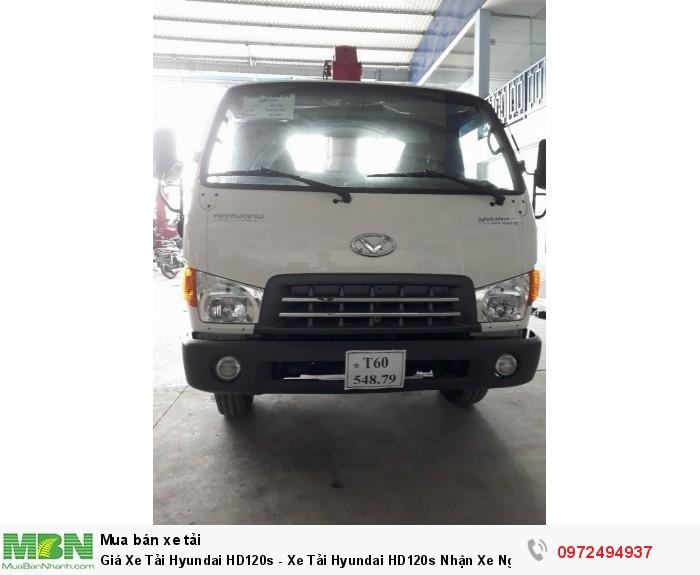 Giá Xe Tải Hyundai HD120s - Xe Tải Hyundai HD120s Nhận Xe Ngay Sau 5 Ngày