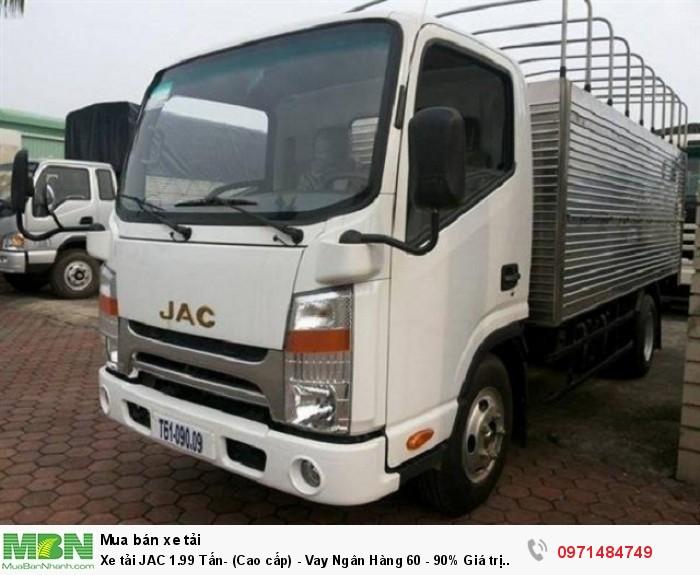 Xe tải JAC 1.99 Tấn- (Cao cấp) - Vay Ngân Hàng 60 - 90% Giá trị xe
