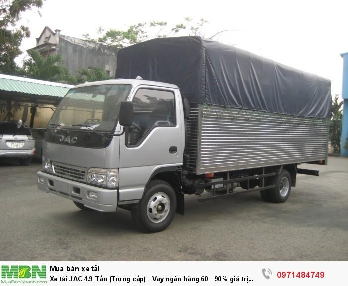 Xe tải JAC 4.9 Tấn (Trung cấp) - Vay ngân...